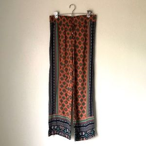 Bohemian pattern lounge pants